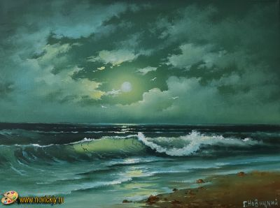 Ночной берег